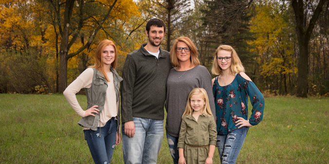 Dupaco Members Alicia And Patrick Damveld Saved Thousands By Bringing Their Auto Loans To Their Credit Union. They Used The Savings To Buy A Camper To Take Daughters Taylor (from Left), Teagan And Ireland On Vacations Across The Country. (D. Phillips Photo)