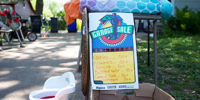 How A Garage Sale Can Help You Spark Joy For Others