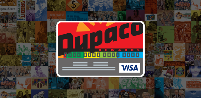 Dupaco's Rewards Credit Card