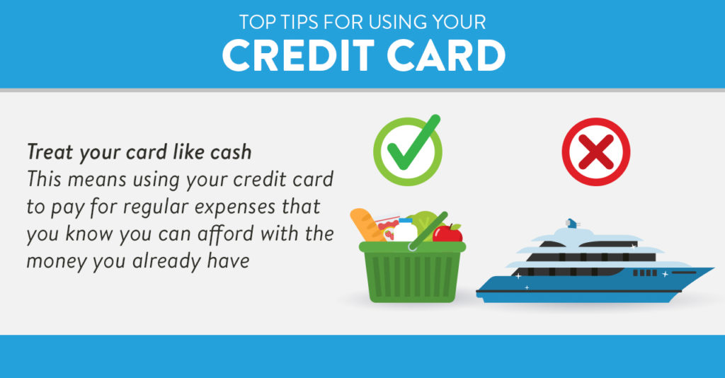 Using your credit card tip