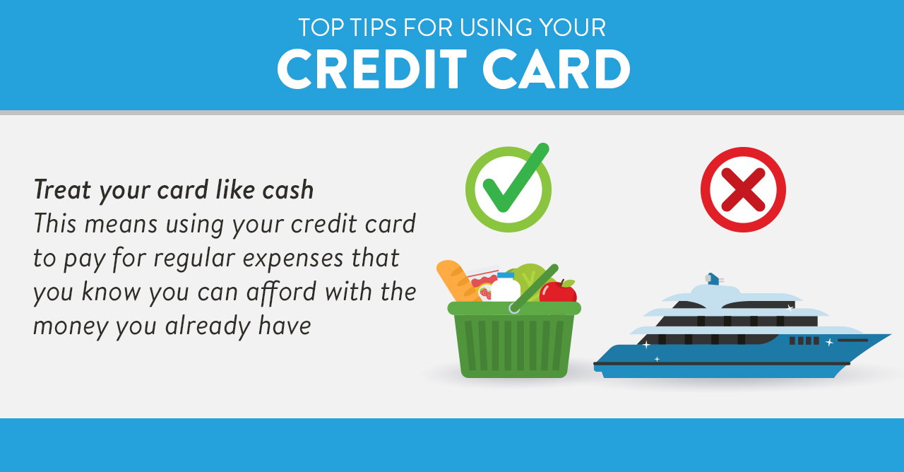 Treat your credit card like cash