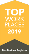 Dupaco named Top Workplace 2019 by Des Moines Register
