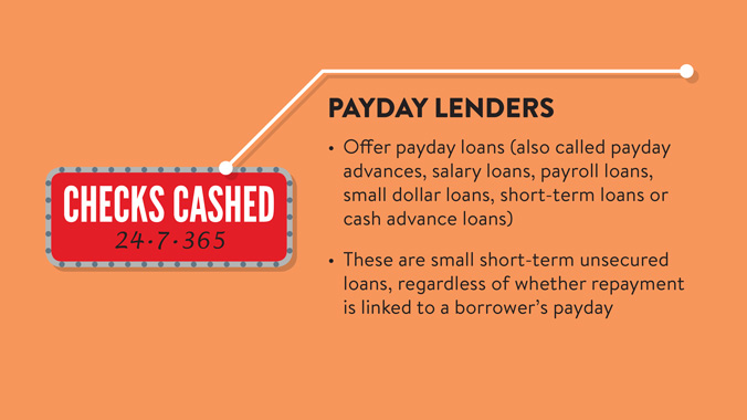 About Payday Lenders