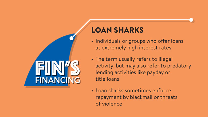 About Loan Sharks