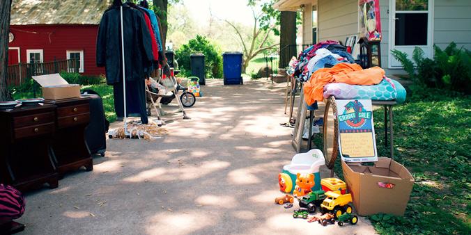 Dupaco Garage Sales: Tips for sellers