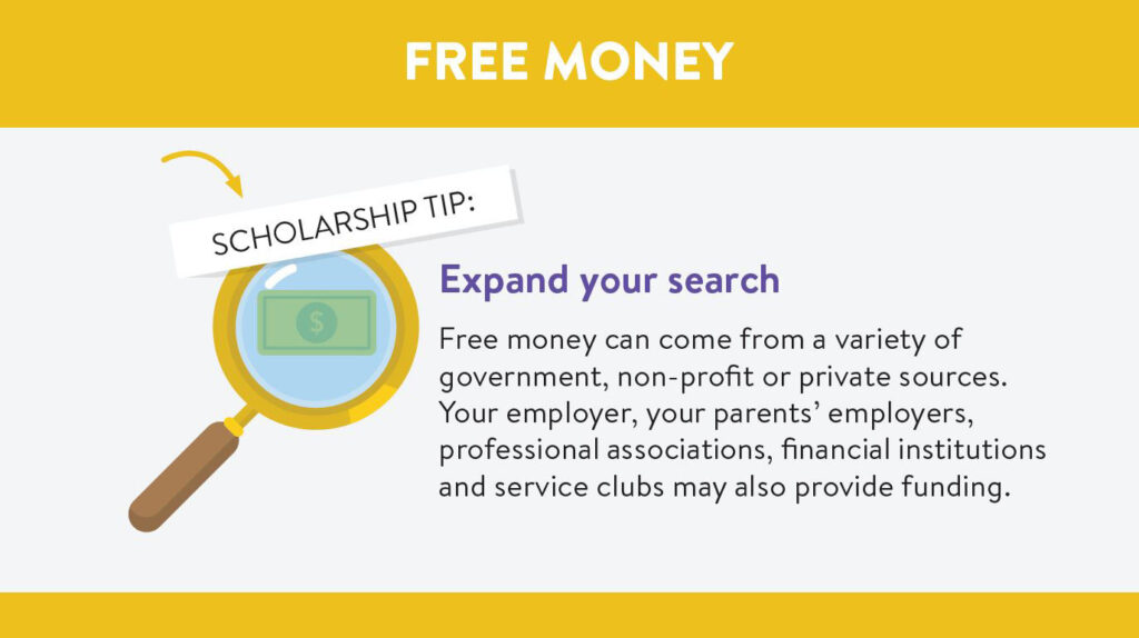 College scholarships: Expand your search