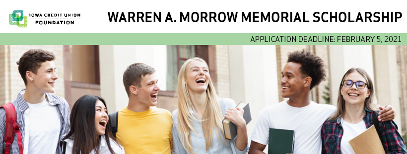 Warren A. Morrow Memorial Scholarship